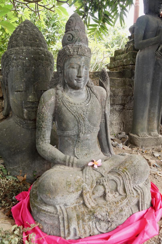 Göttin Dewi Tara Steinfiguren