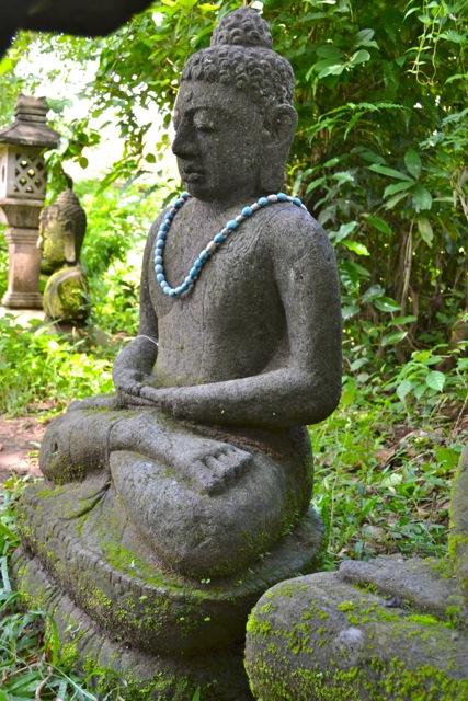 Monsoon Buddha Steinfigur 105 cm
