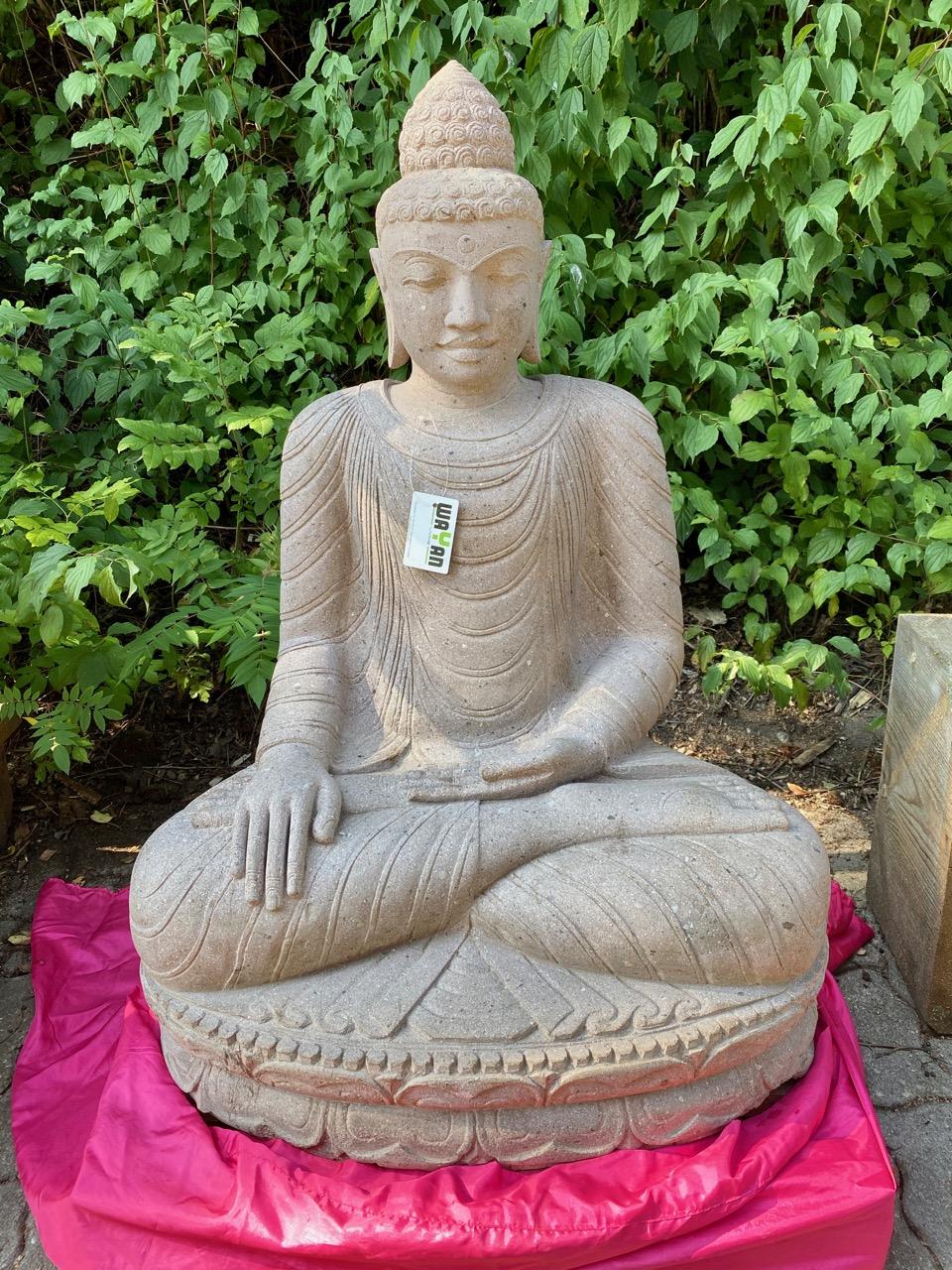 Buddha Steinstatue für den Garten