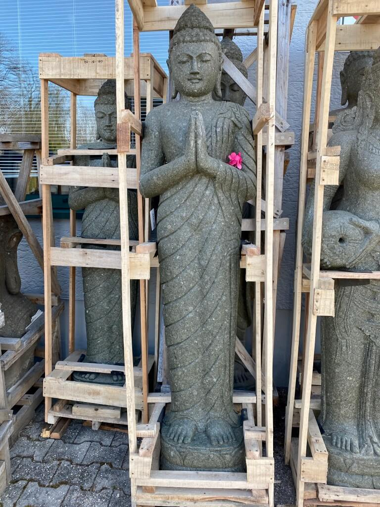 große Buddhastatue stehend 200 cm