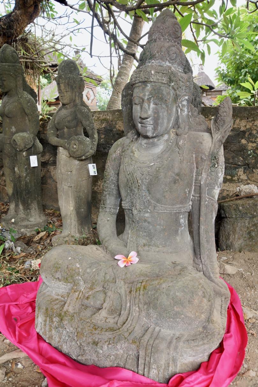 Flussstein Göttin Dewi Tara