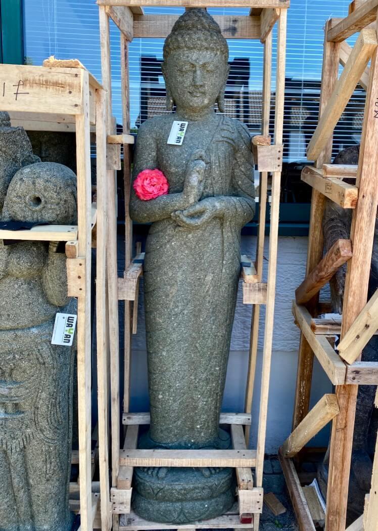 Buddhaskulptur stehend 182 cm