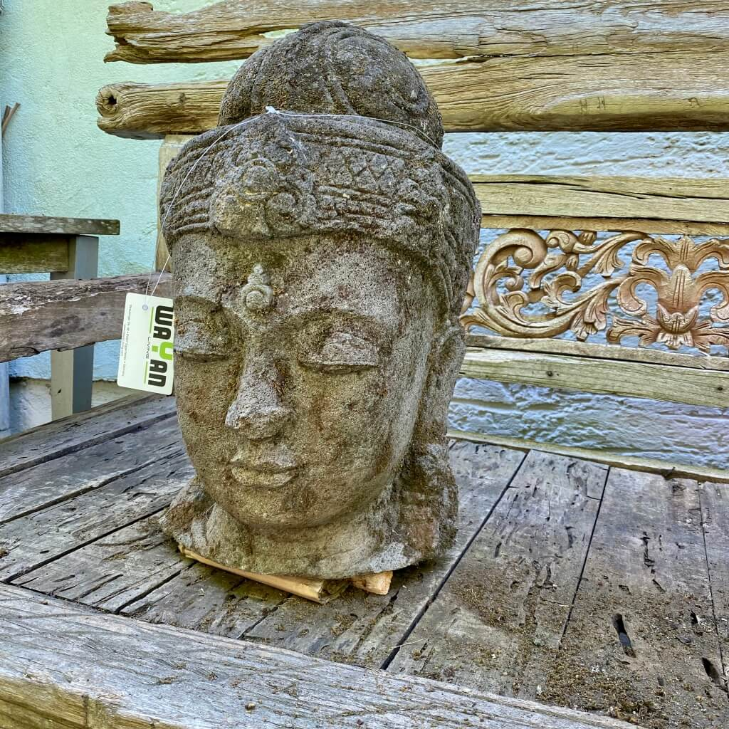 Dewi Kopf mit Monsoonfinish 50 cm